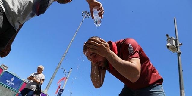 109 yılın sıcaklık rekoru kırıldı