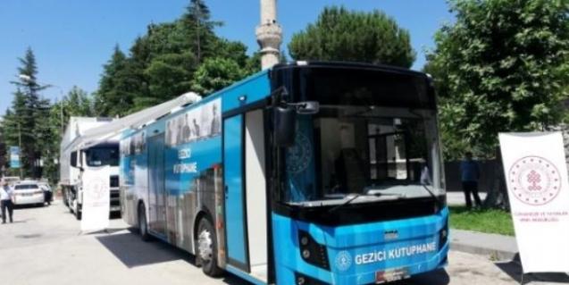 Köy çocuklarına 'gezici kütüphane' hizmet verecek