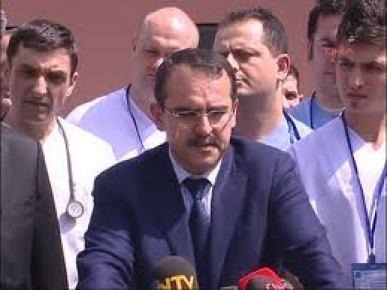 Bakan Ergin ve Şahin Şanlıurfa Cezaevi'ne geldi