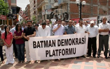 Batman Demokrasi Platformu'ndan 'silahlar sussun' çağrısı