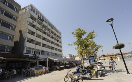 Çanakkale'deki Anafartalar Oteli yıkılıp meydan olacak