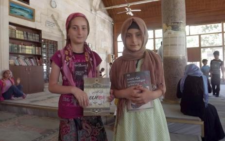 Çorlu'da öğrenciler Kur'an öğrenmeye başladı