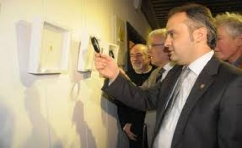 Hasan Kale'nin ''Mühr-ü İstanbul 2'' sergisi açıldı