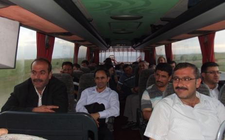 Karapınarlılar, Türkçe Olimpiyatları'na 5 otobüs kaldırdı