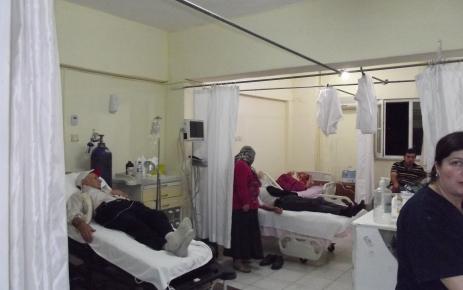 Kastamonu'da, 100 kişi taziye yemeğinde zehirlendi