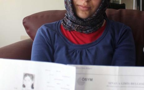 Kimliğini kaybettiği için sınava alınmayan genç kız: Emeklerim heba oldu