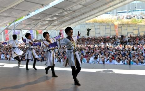 Kültür Şöleni'nin ikinci günü sona erdi
