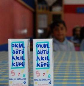 'Okul sütüne bozuk raparu' açıklaması...
