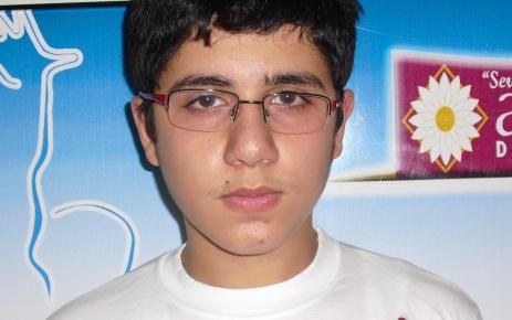Şahikalı öğrenci SBS'de Türkiye birincisi oldu