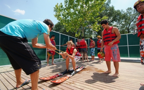 Su kayağına rekor ilgi