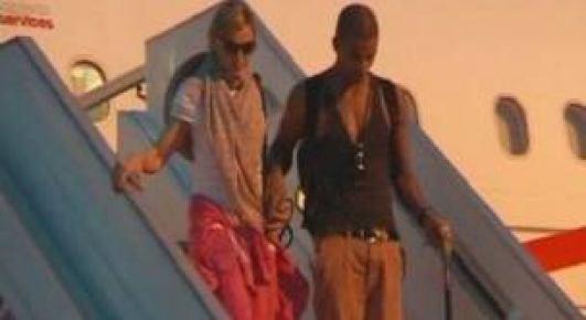 Süper Star Madonna İstanbul'a geldi