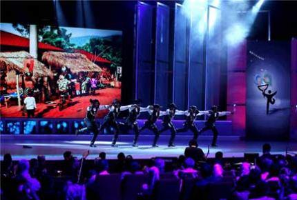 Türkçe Olimpiyatları'nın şarkı finalini Türkmen Ruslan kazandı