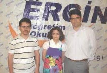 Yozgat Özel Ergin Koleji öğrencisi, SBS birincileri arasında