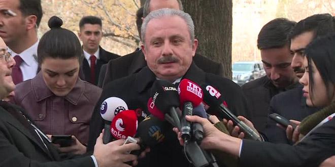 Mustafa Şentop: Cumhurbaşkanı taraflıdır, siyasi parti üyesidir