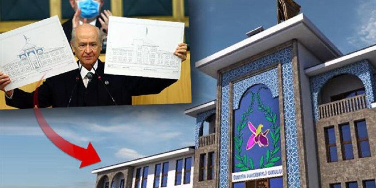 Bahçeli'nin Şuşa'da yaptıracağı okulun detayları belli oldu