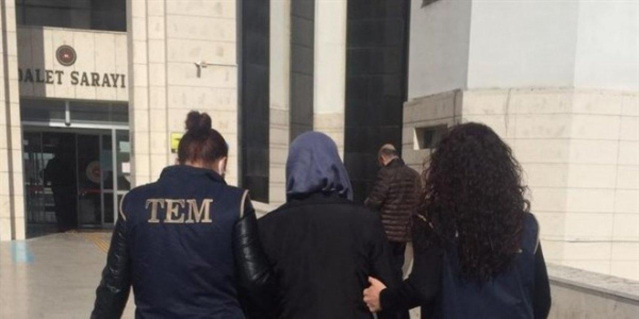 FETÖ firarisi kadın öğretmen sahte kimlikle yakalandı