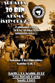 Şubatçılar Grubu 15 Aralıkta Adana'da eylemde