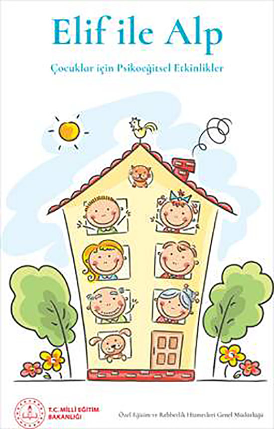 MEB'den çocuklar için psikoeğitsel destek kitabı
