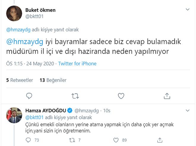 Personel Genel Müdürü Hamza Aydoğdu açıkladı! Öğretmen yer değiştirmeleri neden Haziran'da yapılmıyor?