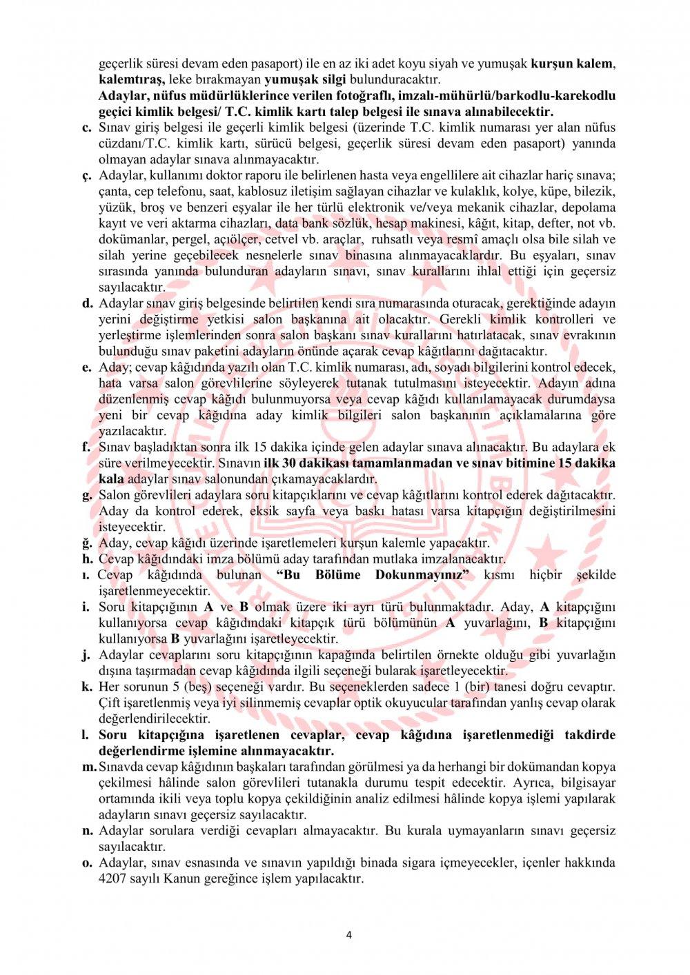 Adaylık Kaldırma Sınavı (AKS) Kılavuzu Yayımlandı