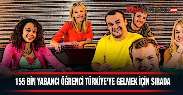 155 Bin Yabancı Öğrenci Türkiye'ye Gelmek İçin Sırada