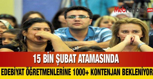 15 Bin Atamada Edebiyatçılara 1000+ Kontenjan Bekleniyor!