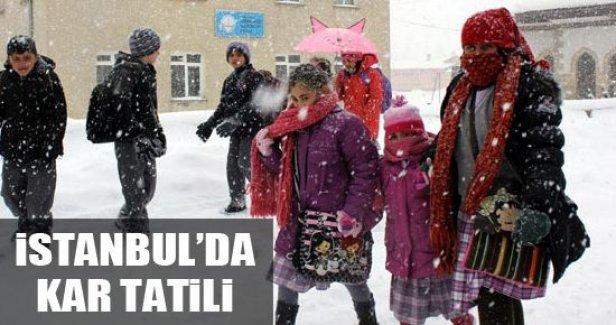 18 Şubat Çarşamba İstanbul'da Okullar Tatil Edildi