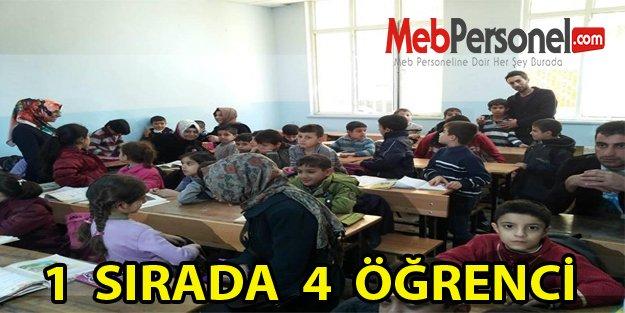 1 SIRADA 4 ÖĞRENCİ