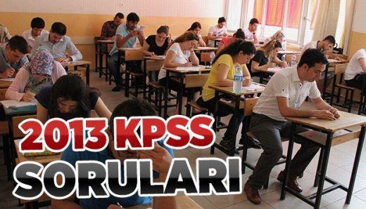 2013 Kpss İktisat Soru ve Cevapları