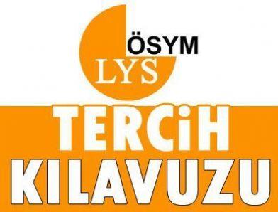 2013 ÖSYM- LYS Tercih Kılavuzu Üniversitelerin Taban-Tavan Puanları
