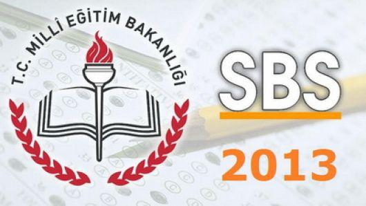 2013 Sbs sınav sonuçları ne zaman açıklanacak . Cevabı burada