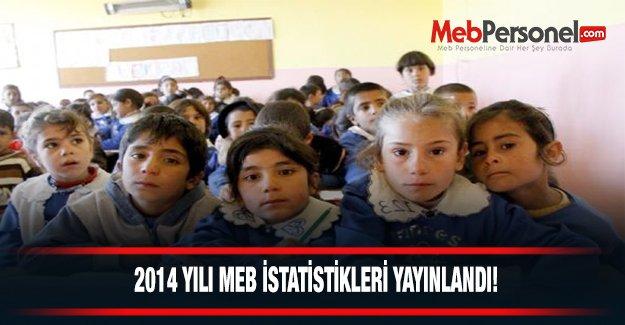 2014-15 Yılı MEB İstatistikleri Yayınlandı!
