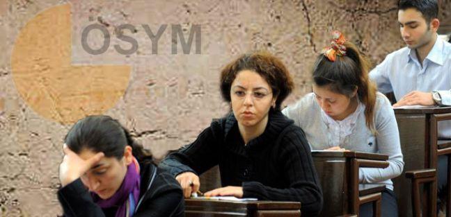 2014 ÖSYM Sınav Takvimi