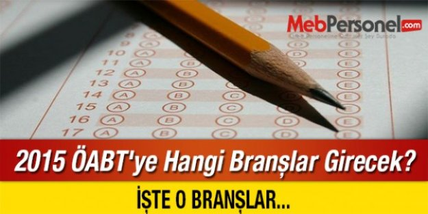 2015 ÖABT Öğretmenlik Alan Sınavı Tüm Detaylar
