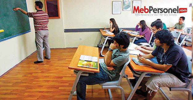 'Dershane varken temel lise nereden öğrenci bulacak?'