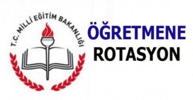 Öğretmenlere Rotasyon Başlıyor; MEB'den son dakika rotasyon mesajı