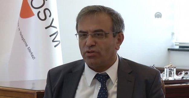 ÖSYM Başkanı: Soru iptalleri olağan bir sonuç