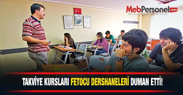 Takviye Kursları Fetocu Dershaneleri Duman Etti!