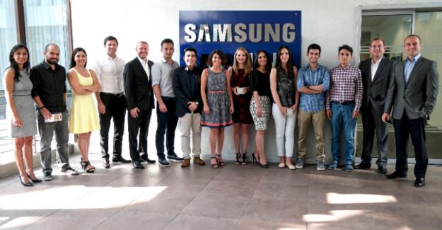 Üniversiteli Gençler Samsung'da İşe Başladı