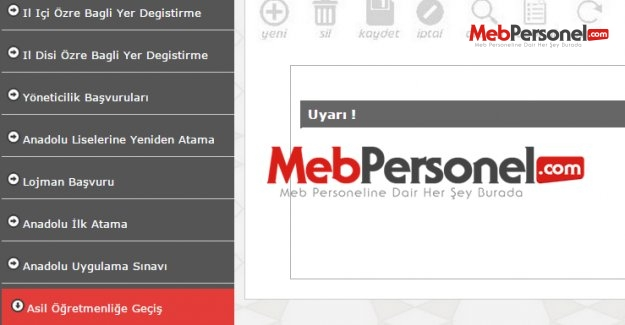 Aday öğretmenlik sınavı MEB başvuru ekranı (sınav başvurusu nasıl yapılır)