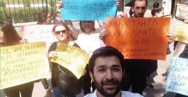 Ataması Yapılamayan Türk Dili ve Edebiyatı Öğretmenlerinin Çığlığı Ankara'da Yankılanıyor