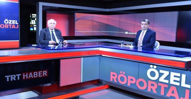 Bakan Avcı, TRT Haber'in canlı yayın konuğu oldu