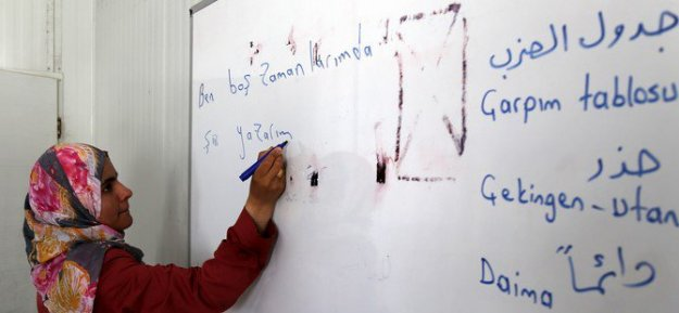 Suriyeli öğretmenlere mesleki eğitim