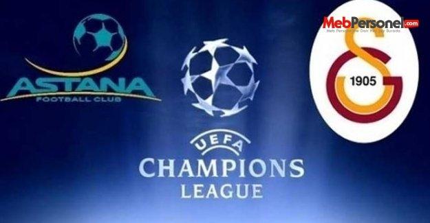 Astana Galatasaray Maçı Şifresiz İzle (30 Eylül 2015)