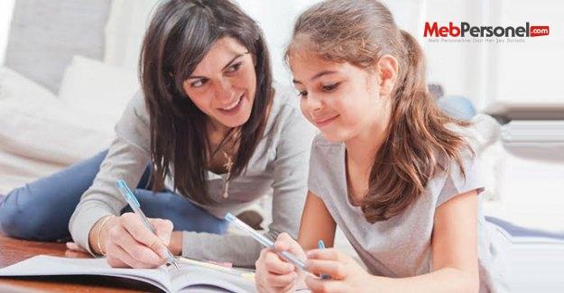 Ödev çocukların, destek anne-babaların görevi!