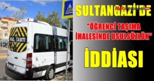 """Sultangazi'de """"Öğrenci Taşıma İhalesinde Usülsüzlük"""" İddiası"""