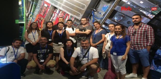 Türk Öğretmen CERN'de