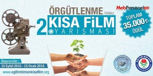 Eğitim-Bir-Sen'den 35 bin TL ödüllü kısa film yarışması