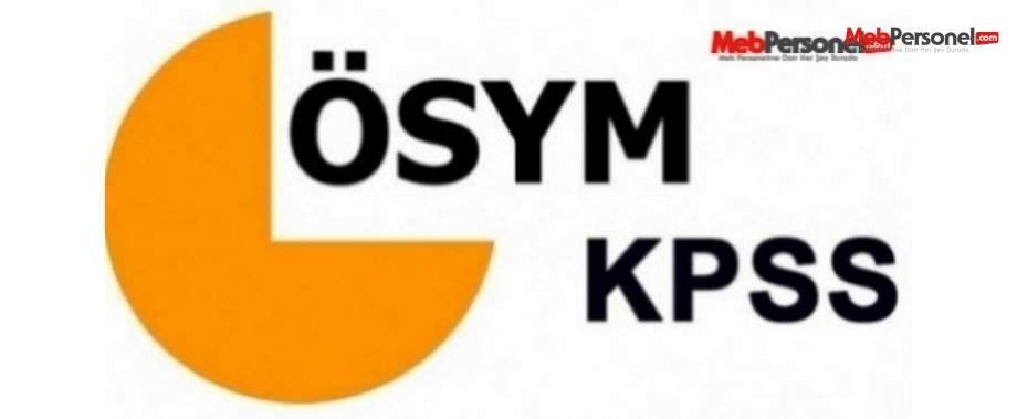 KPSS Sınav Takvimi - 2016 ÖSYM