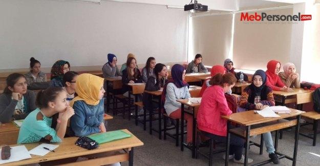 MEB'in destekleme ve yetiştirme kursları başladı